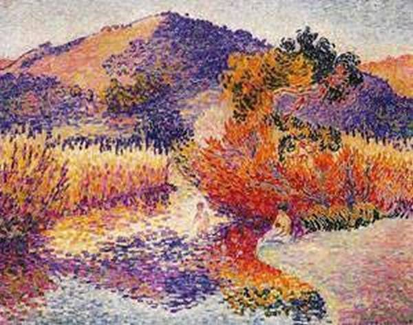 River in saint clair 1908 xx private collection